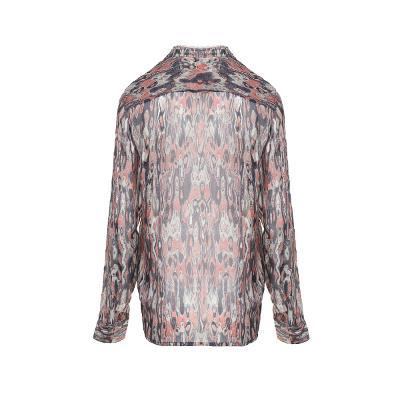 unique pattern blouse multi